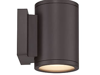 WAC Lighting WAC Tube LED Indoor/Outdoor Up and Down Wall Light in Bronze