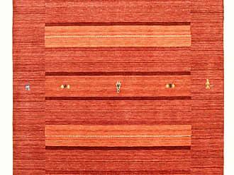 Nain Trading Oriental Loom Gabbeh Lori Rug 78x56 Orange (Wool, Indien, Handwork)
