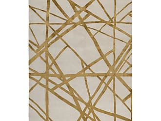 Kelly Wearstler Channels Copper Hand Knotted 10x8 Rug In Wool And Silk By Kelly Wearstler