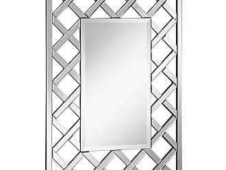 Elegant Furniture & Lighting Modern Rectangle Wall Mirror - 28.5W x 39.75H in. - MR-4009