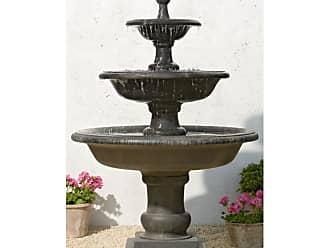 Campania International Vicobello Three-Tier Outdoor Fountain - FT-114-NA