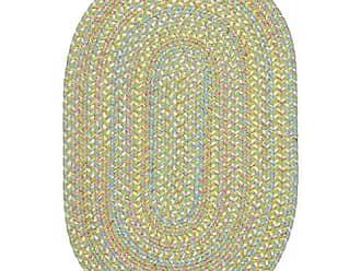 Rhody Rug RRI Home Decor SB44R096X132 Sandbox Oval Rug, 8 x 11