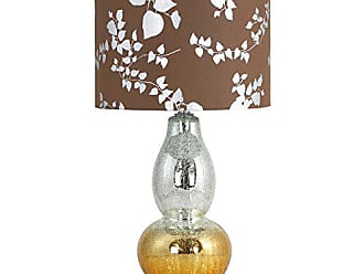 Aspire Home Accents Aspire Isola Glass Table Lamp, Brown