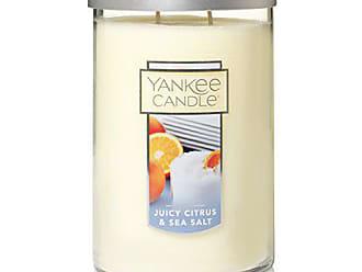 Yankee Candle Company Large 2-Wick Tumbler Candle, Juicy Citrus & Sea Salt