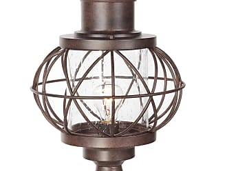 Craftmade Exteriors Outdoor Lighting Large Post Mount In Aged Bronze