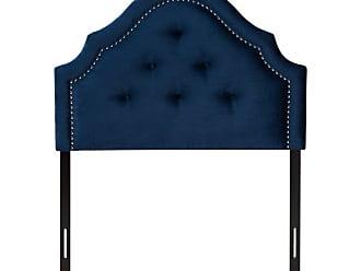 Baxton Studio Cora Velvet Tufted Upholstered Headboard, Size: Queen - BBT6564-LIGHT PINK-HB-QUEEN