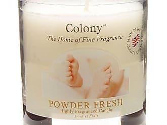Colony Bougie Parfum/ée Dans Son Pot de Verre Fresh Linen