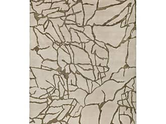 Kelly Wearstler Tracery Hand-knotted 9x6 Rug In Wool And Silk By Kelly Wearstler