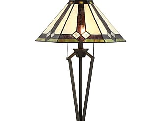 Lite Source Inc. C41389 Lance 2 Light 31 Tall Tiffany Table Lamp with Pull