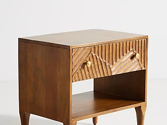 Anthropologie Paje Carved Nightstand