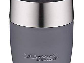 ThermoCafe by THERMOS 4064.233.025 Kaffeetasse DeskCup Edelstahl Schwarz