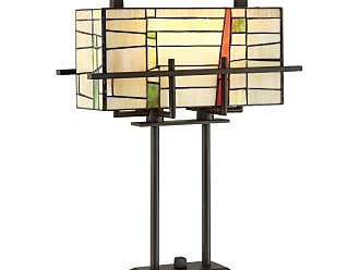 Lite Source Inc. C41396 Mansur 2 Light 27 Tall Tiffany Table Lamp with