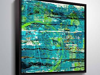 Brushstone Perception & Concept by Scott Medwetz Framed Canvas - 0MED875A1010F