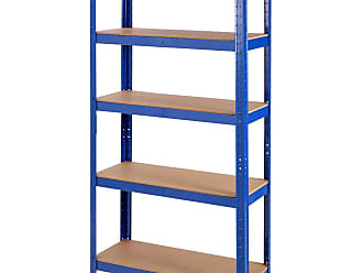 Costway 35.5 x 71 Adjustable 5-Layer 2000 lbs Capacity Tool Shelf
