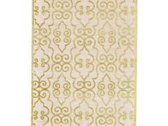 Room Envy Rugs SohoMah Damask Indoor Area Rug Cream / Citrine - I02I3068CRMCTRA22
