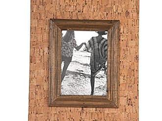 Foreside Home And Garden Foreside Home & Garden Cork Frame, Brown