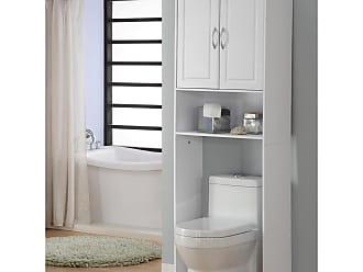 4D Concepts White Double Door Space Saver - 76421