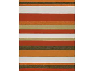 Liora Manne Ravella RVL-190017 Area Rug - Orange, Size: 8 x 8 ft. - RVLS8190017