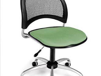 OFM Moon Series Armless Fabric Swivel Chair, Sage Green