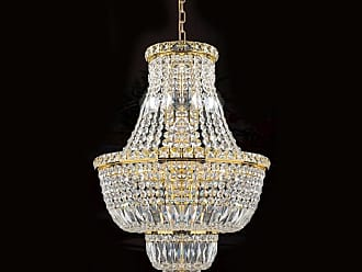 Worldwide Lighting W83032G18 Empire 12 Light 1 Tier 18 Gold