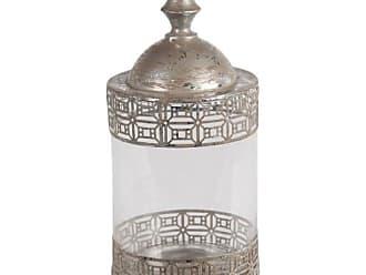 Privilege International Metal Decorative Jar