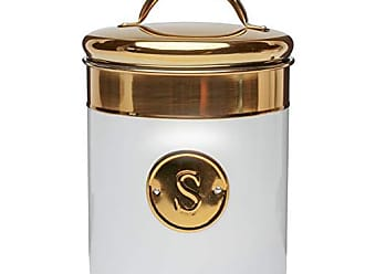Amici Home 5AN845R Simone Sugar Metal Canister One Size Gold