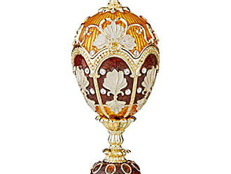 Design Toscano The Pavlousk Collection Romanov Style Enameled Constantine Eggs, Single, Full Color