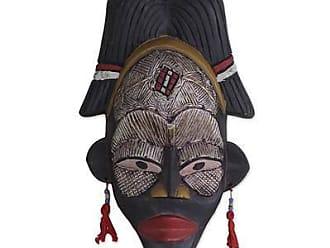 Novica Ghanaian wood mask, Necessary Wisdom