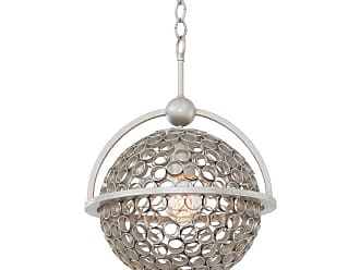 Kalco Marrero 12 Pendant in Aged Silver Finish