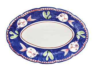 Vietri Pesce Oval Platter