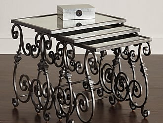 Charmant Hooker Furniture Louise Glass Top Nesting Tables