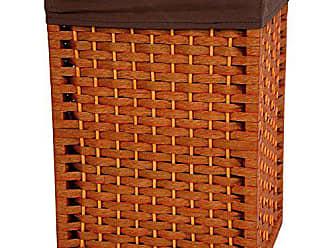 Oriental Furniture 17 Natural Fiber Basket - Honey