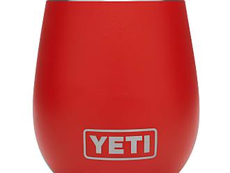 Yeti Canyon Red 10 Oz Rambler Wine Tumbler