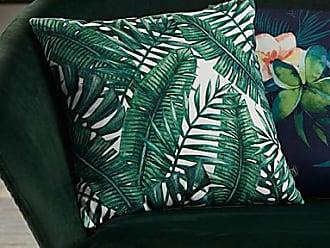 Simons Maison Green foliage cushion 45 x 45 cm