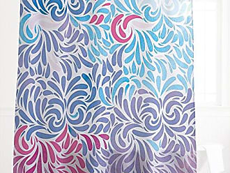 One Bella Casa 73476SC71 Colorful Bounty Cool Shower Curtain by OBC, Multicolored