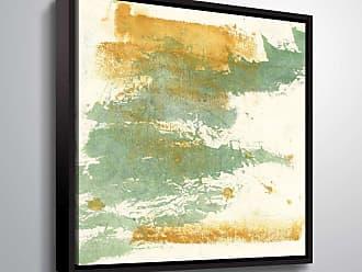 Brushstone Textured Gold I Wall Art Framed - 2PAS187A1010F