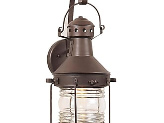Craftmade Z114 Nautical 18 1 Light Outdoor Wall Sconce Brushed Nickel