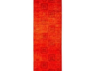 Solo Rugs Vibrance Hand Knotted Runner Rug, 3 0 x 9 10, Red