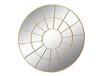 Deco 79 53374 Metal Wall Mirror, 48 x 48, Gold