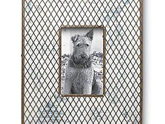 Foreside Home And Garden 78272 Metal Woven Lattice Frame