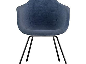 NyeKoncept 332006CL3 Mid Century Classroom Arm Chair, Dodger Blue