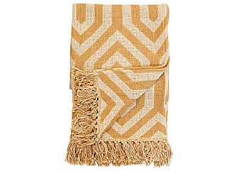 Foreside Home And Garden Hand Woven Hallie Throw