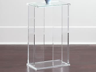 Interlude Home Chase Acrylic End Table