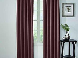 Ellery Homestyles Eclipse Corinne Blackout Window Curtain Panel, 42 x 84, Plum