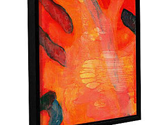 ArtWall Charlotte Johnstones Clown Fish II, 1997, Gallery Wrapped Floater-Framed Canvas, 24 x 24
