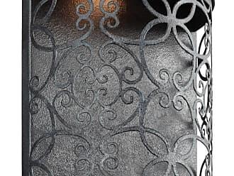 Feiss Arramore 1 - Light Outdoor Wall Lantern in Dark Weathered Zinc
