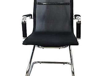 Pelegrin Cadeira Interlocutor Tela Mesh Preta PEL-7010V - Pelegrin