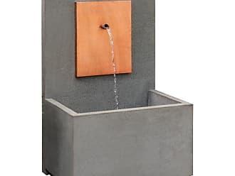 Campania International MC2 Outdoor Fountain Corten Steel - FT-332/CS-AL