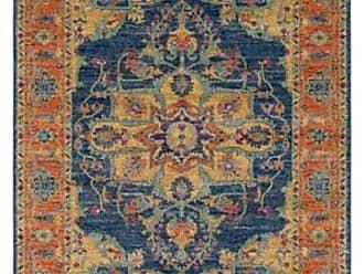 Ashley Furniture Home Accents Harput 5 3 x 7 3 Area Rug, Orange