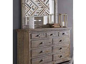 Progressive Furniture P635-23 Willow Drawer Dresser, Weathered Gray